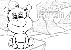 AproDerm AproDites Eczii colouring page link