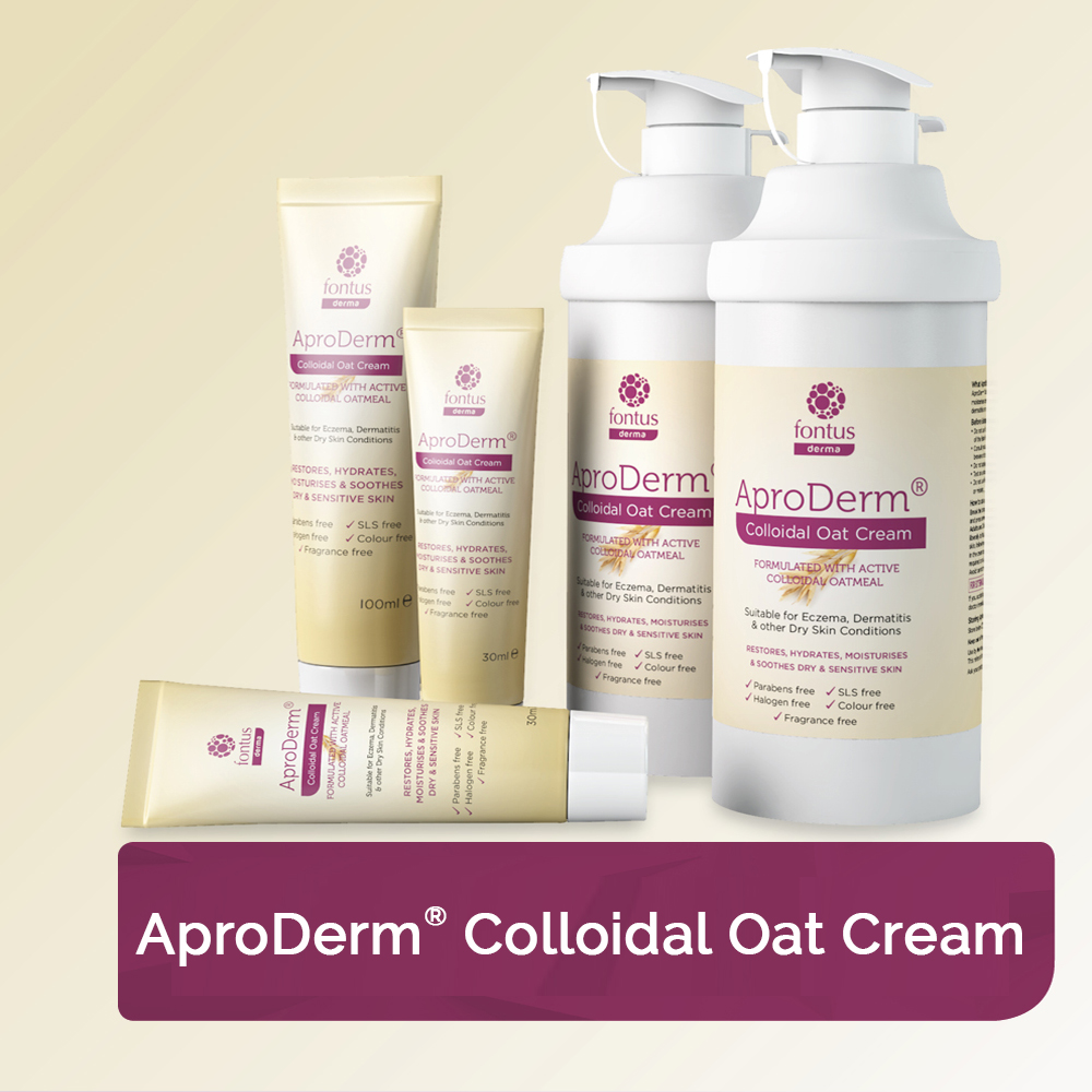 AproDerm<sup>®</sup> Colloidal<br /> Oat Cream